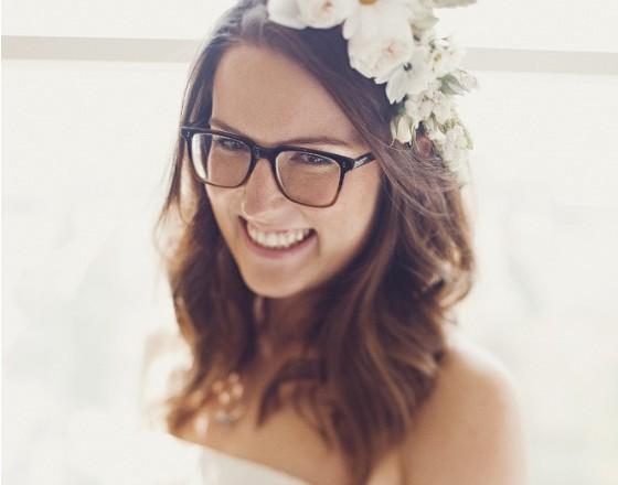 De novias y gafas