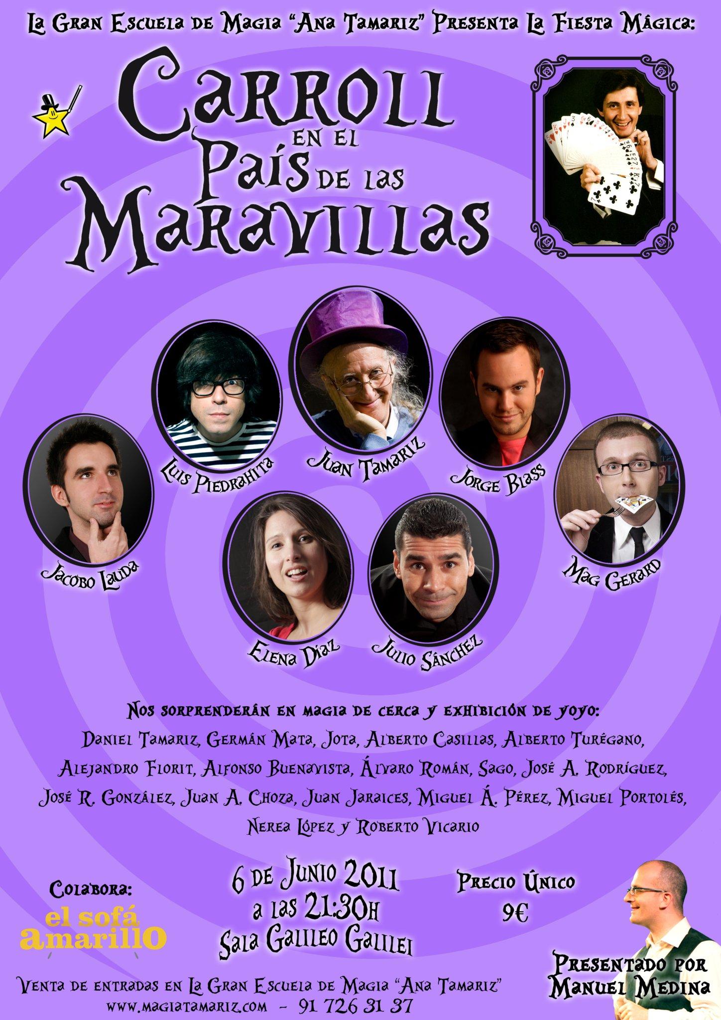 La gran escuela de magia Ana Tamariz