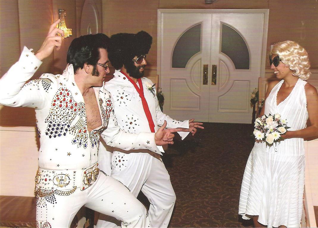 Elvis boda de Las Vegas