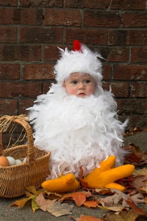 cmo hacer un disfraz de gallina para nios imagui