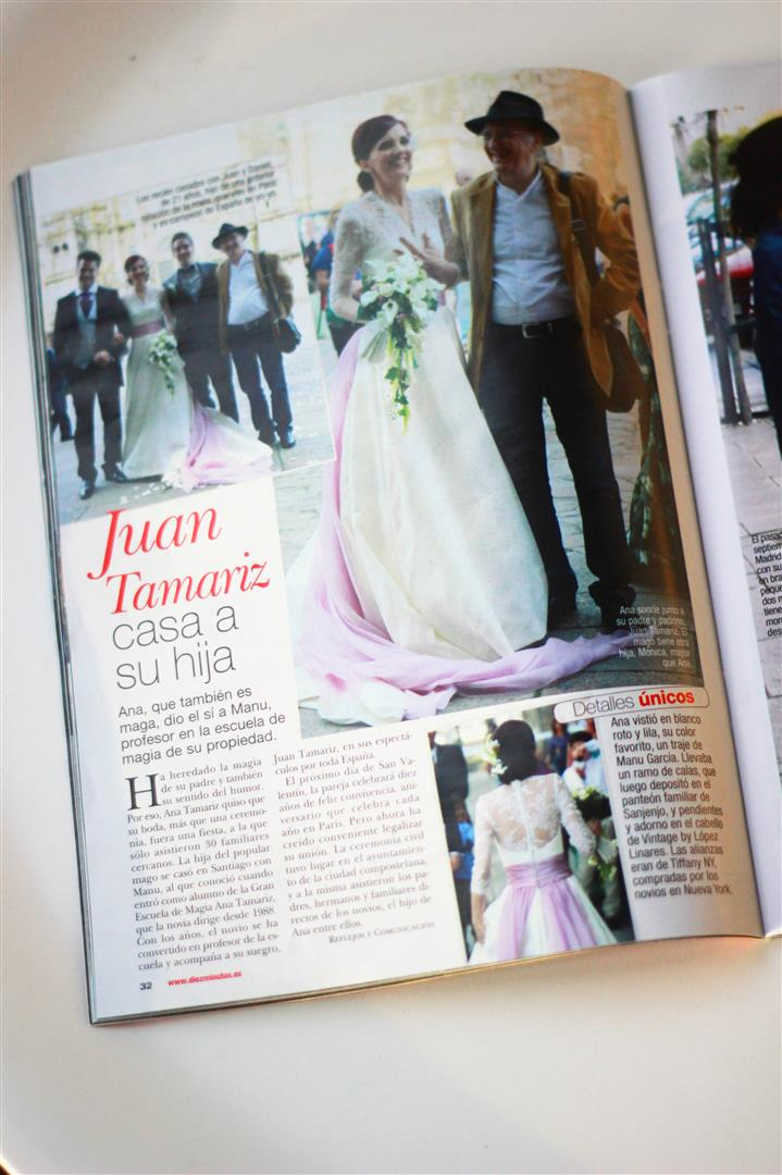 el sofa amarillo boda ana tamariz en prensa (1)
