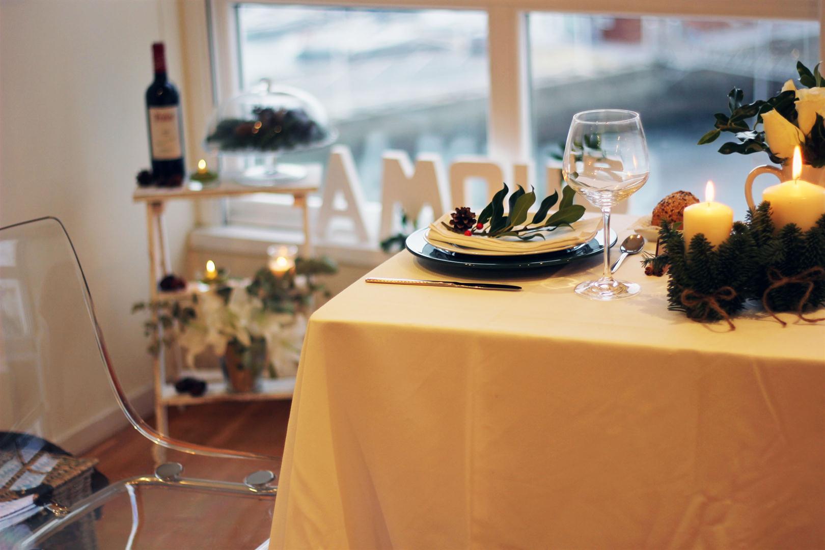 el sofa amarillo mesa navidad interflora (5)