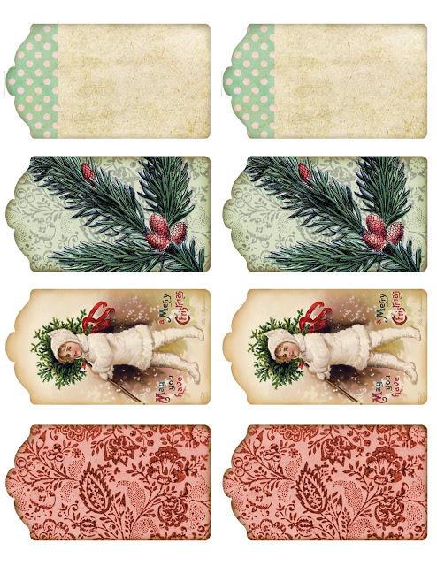 el sofa amarillo etiquetas de regalo navidad (7)