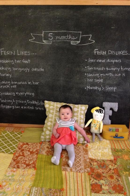 el sofa amarillo fotos bebés mes a mes (1)