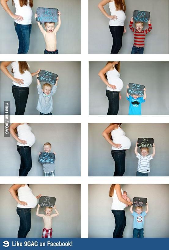 el sofa amarillo fotos bebés mes a mes (6)