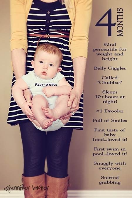 el sofa amarillo fotos bebés mes a mes (7)