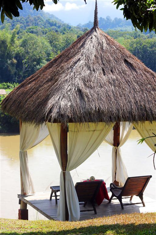 el sofa amarillo montar en elefante en laos (23)