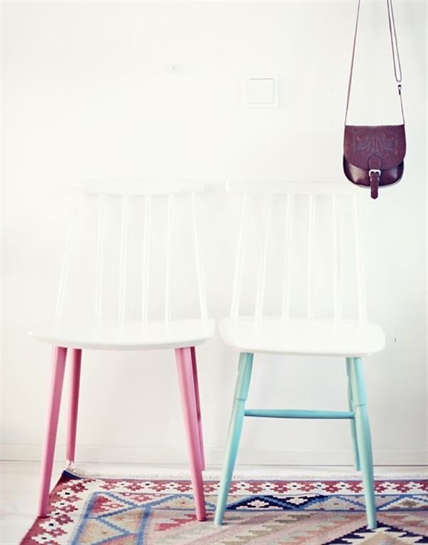 el sofa amarillo muebles a medio pintar dipped (3)