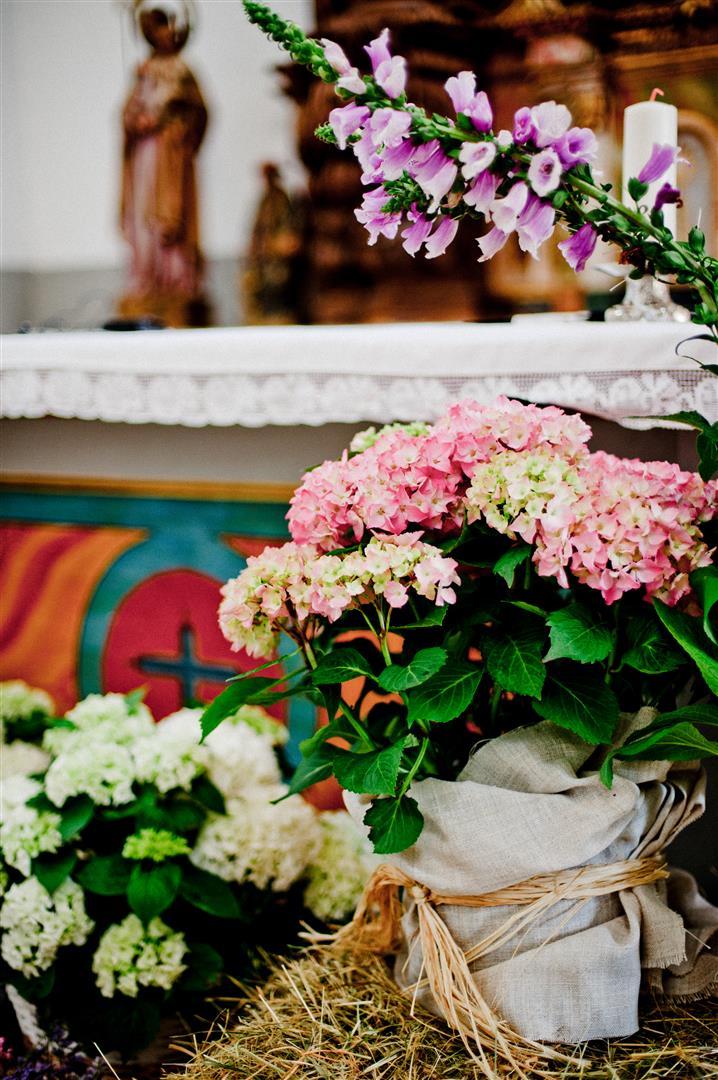 el sofa amarillo decoracion iglesia boda rustica (2)