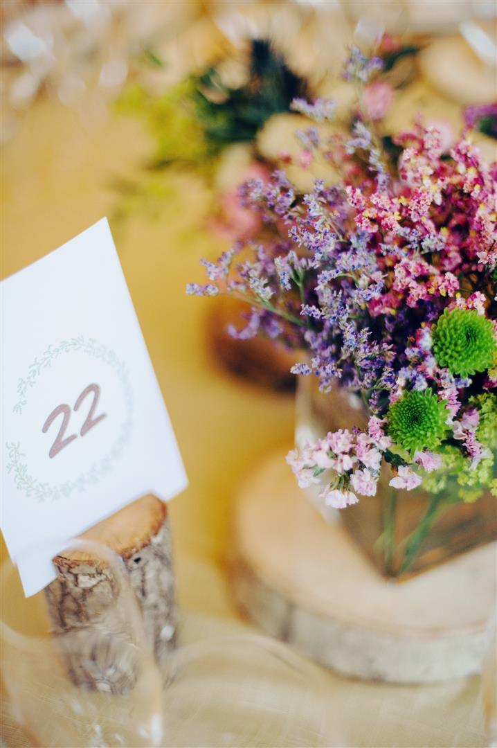 el sofa amarillo numeros de mesa boda rustica (1)