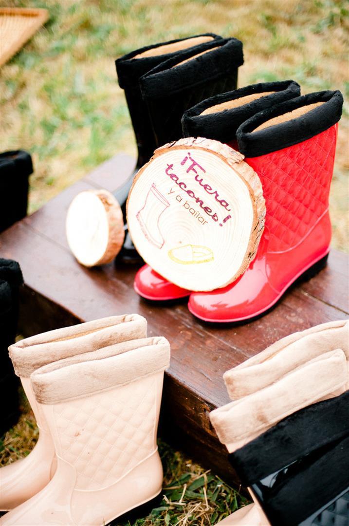 regalar botas de agua en la boda (2)