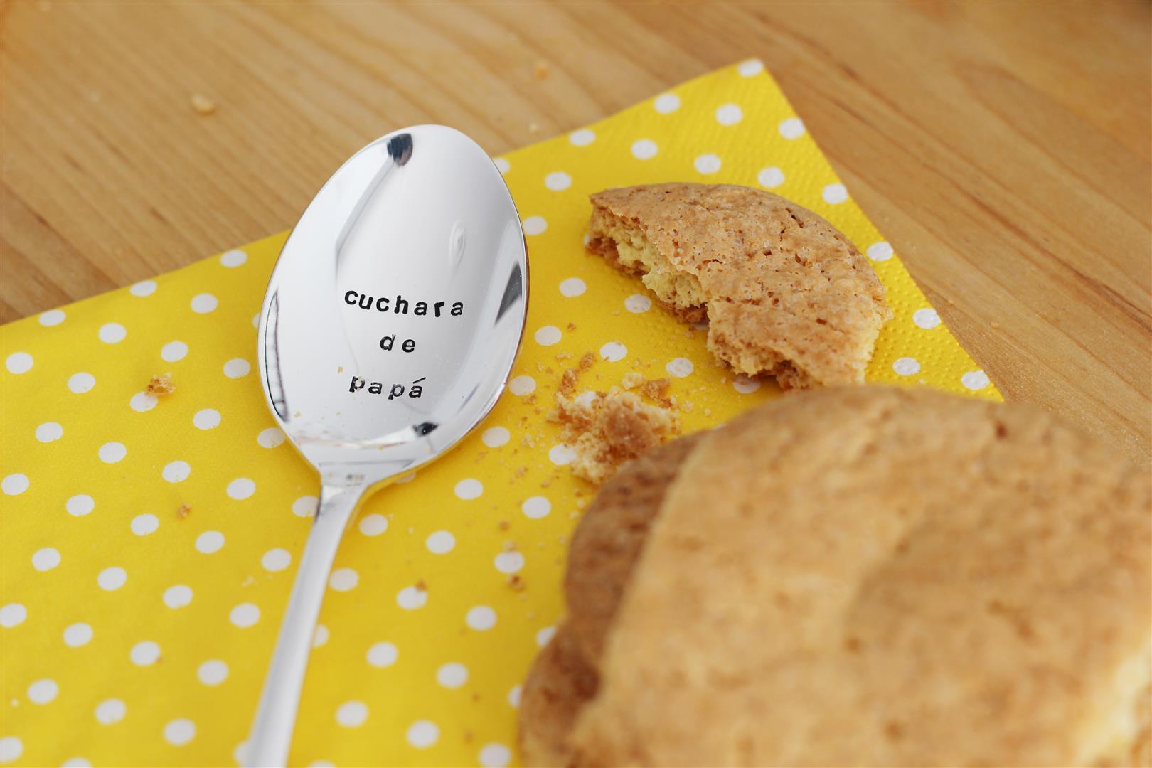cuchara personalizada papa