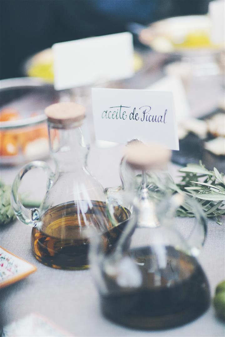 cata de aceites boda