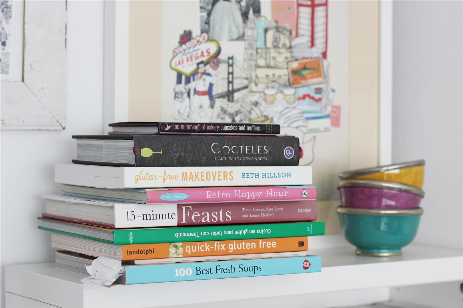 libros de recetas sin gluten