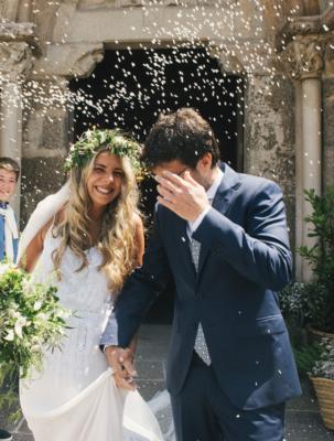 <br> <font size=5> Xela y Fran </font><br><font size=6> La boda de los tipis </font>