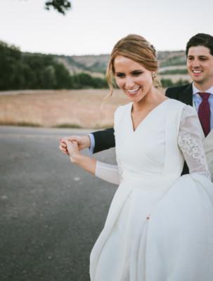 <br> <font size=5> Ana y Ramón </font><br> <font size=6> La boda entre viñedos </font>