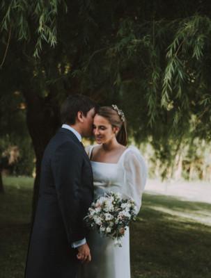 <br> <font size=5> Nuria y Manuel </font><br> <font size=6> La boda del árbol </font>