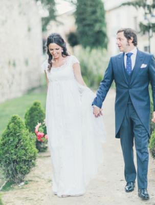<br> <font size=5> Elena y Alfonso </font><br><font size=6> La boda de las mesas árbol </font>